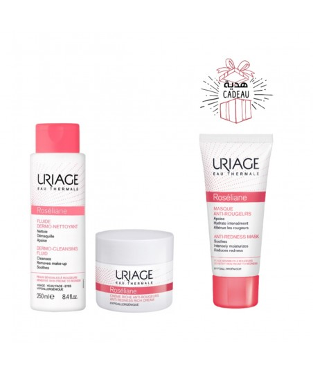 COFFRET PROMO URIAGE 2+1 MA ROUTINE ANTI-ROUGEURS PEAUX SECHES